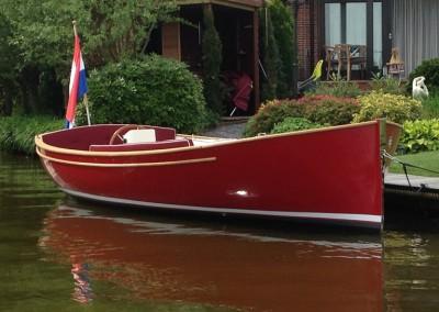 Elektrische boot Sluiper 21